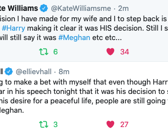 Kate Williams, Ellie Hall vs British Media