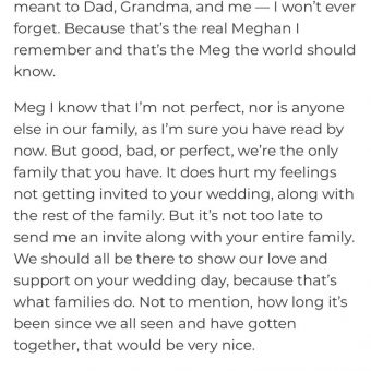 Thomas Markle Jr writes letter asking for wedding invite 3
