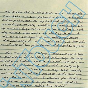 Thomas Markle Jr writes letter asking for wedding invite 6