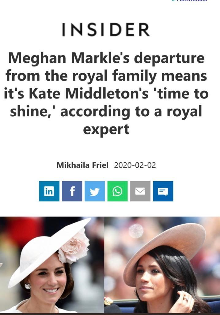 time for Kate Middleton to shine