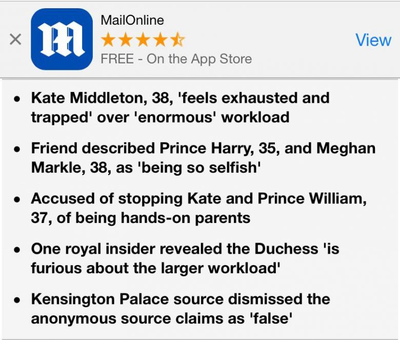 Top CEO Kate Middleton