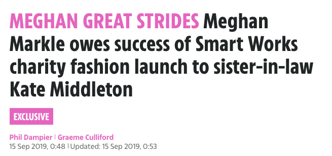 Phil Dampier Thinks Meghan Markle Owes Success Of Smart Set Collection To Kate Middleton