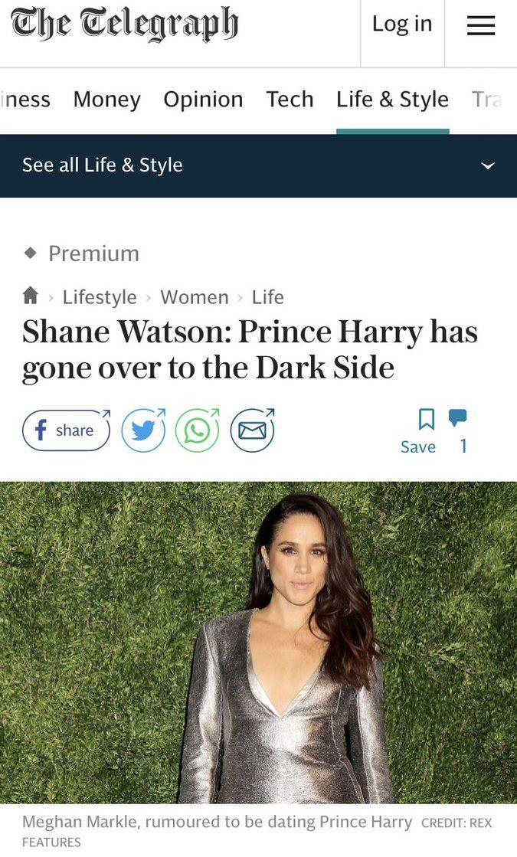 The Telegraph Racism Meghan Markle