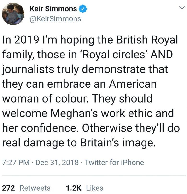 Keir Simmons warns royal family and establishment
