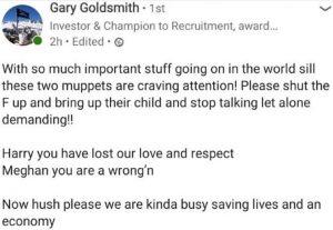 Gary Goldsmith Kate Middleton