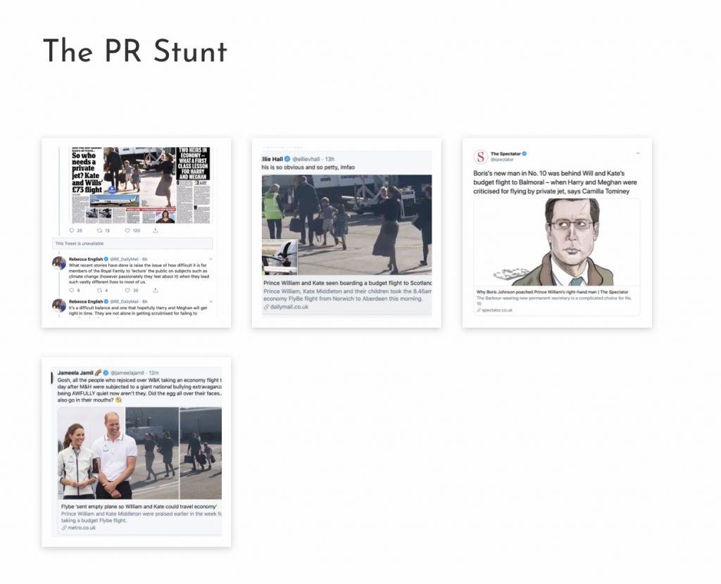 The PR stunt