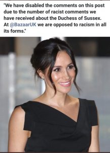 HP - Racist Comments