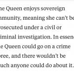 Sovereign Immunity