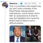 RebeccaEnglishPoliticalInterference