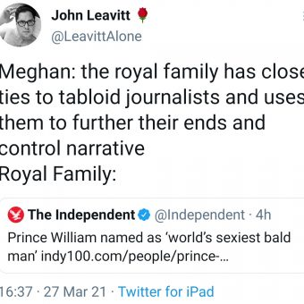 Prince William named sexiest bald man